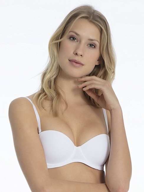 CALIDA Sensitive Underwired bandeau bra with padding