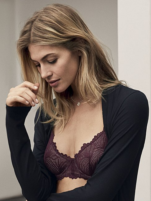 CALIDA Essential Lace Bra with underwiring