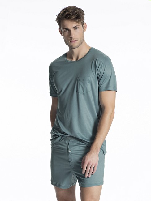 CALIDA I Love Nature Herren T-Shirt, Compostable