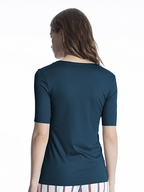 CALIDA Natural Luxe Shirt a manica corta