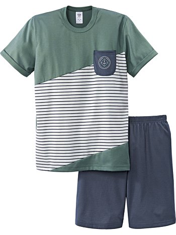 CALIDA Anchors Aweigh Jungen-Kurz-Pyjama