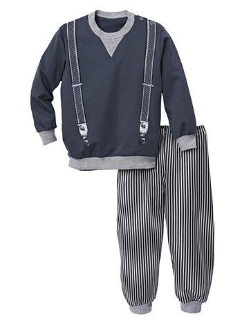 CALIDA Preppy Dandy Kinder-Schlafanzug mit Bündchen