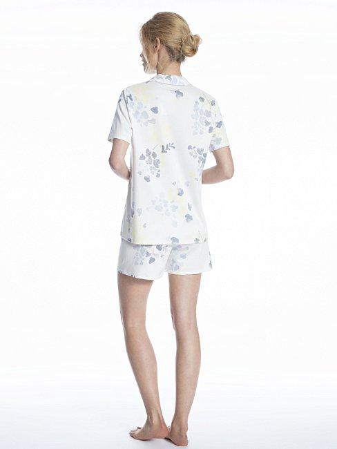 CALIDA Cosy Blossom Pyjama kurz, durchgeknöpft