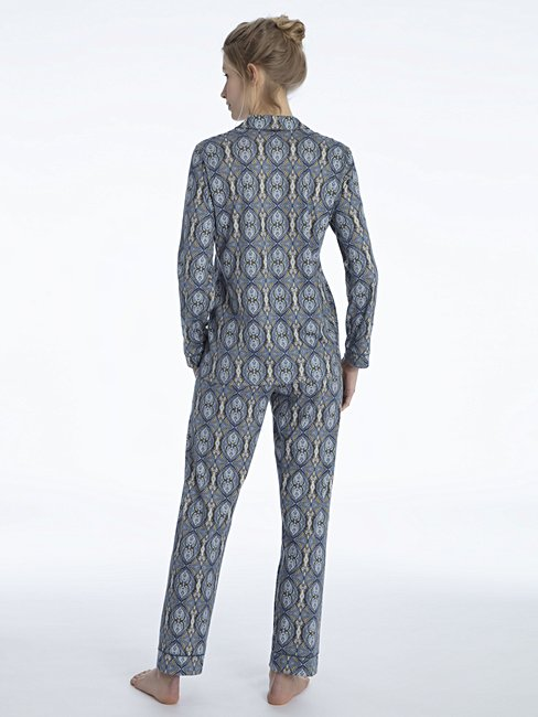 CALIDA Noée Pyjama, geknöpft