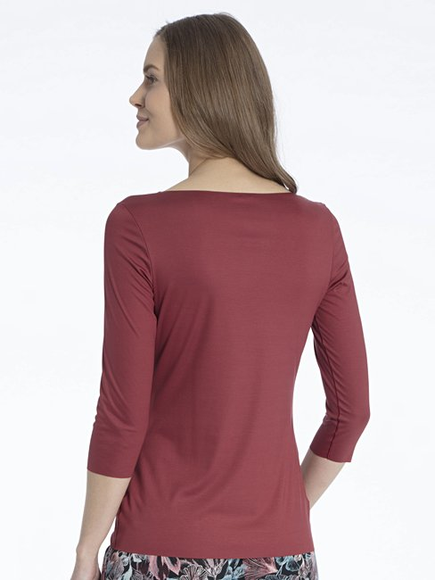 CALIDA Natural Luxe Shirt, 3/4-Arm