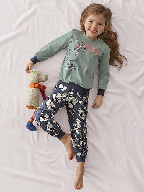 CALIDA Fly Away Pyjama avec bords élastiqués
