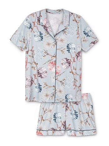 CALIDA Cosy Flowers Pyjama court
