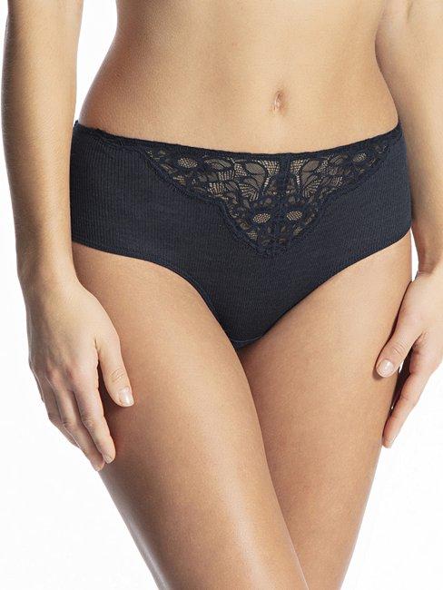 CALIDA Silky Wool Glam Panty, regular cut aus Wolle-Seide