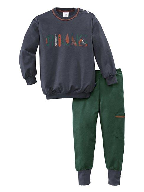 CALIDA Toddlers Hiking Kinder Bündchen-Pyjama