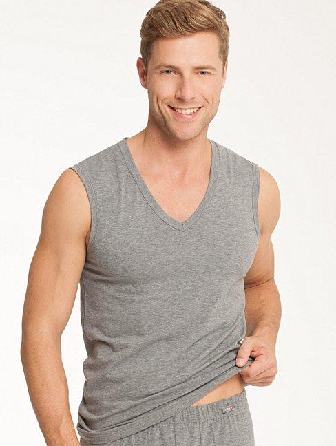 CALIDA Evolution City-Shirt mit V-Ausschnitt