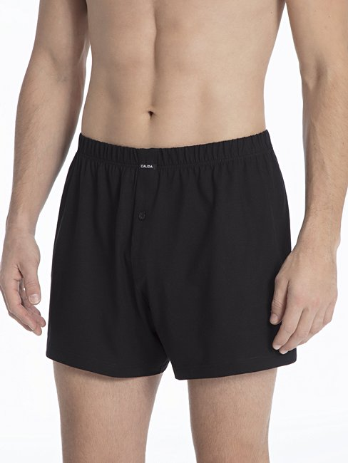 CALIDA Activity Cotton Boxer shorts with fly