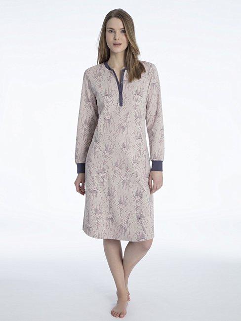 efe611e171 CALIDA Rahel Nachthemd, Länge 110cm grau | CALIDA Online-Shop