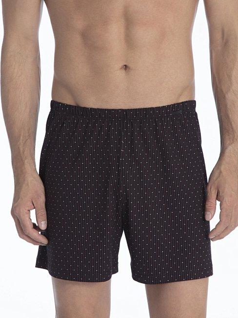 CALIDA Prints Jersey-Boxershorts, überzogener Bund