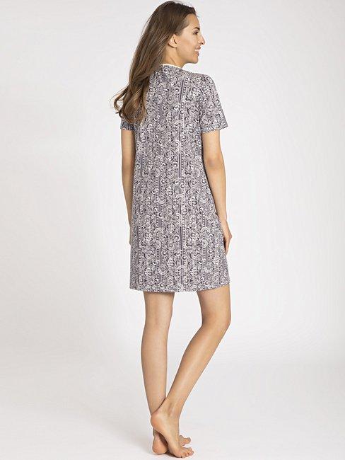 CALIDA Sharon Sleepshirt kurzarm, Länge 95cm