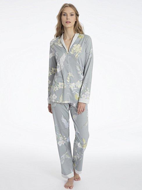 CALIDA Serafine Pyjama, durchgeknöpft