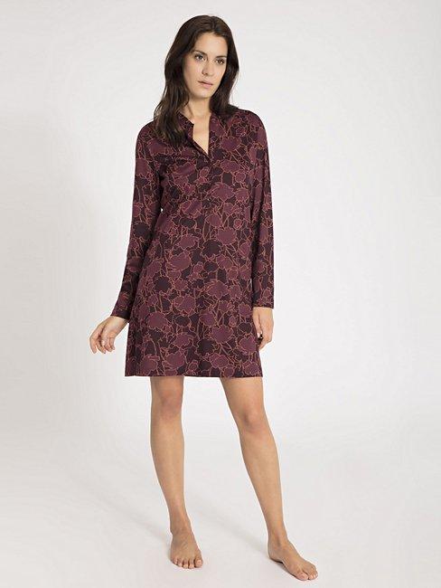 CALIDA Grace Sleepshirt mit Knopfleiste, Länge 90cm