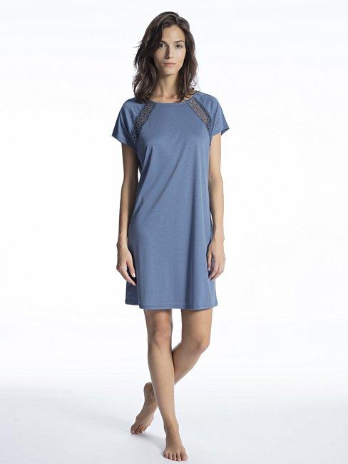 CALIDA Cosy Grace Sleepshirt kurzarm, Länge 90cm