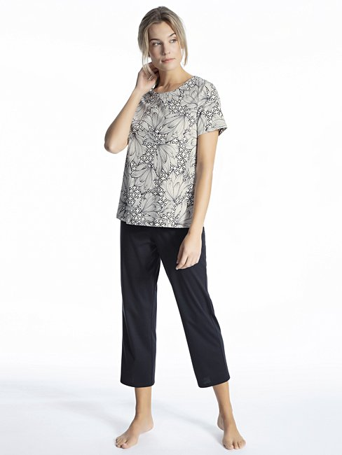 CALIDA Cosy Cotton Fair Pyjama 7/8