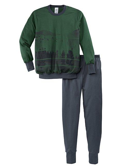 CALIDA Boys Outdoor Jungen Bündchen-Pyjama