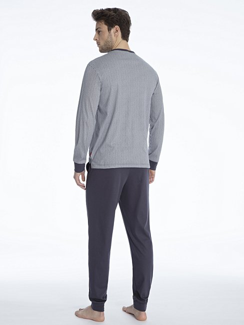 CALIDA Kolia Bündchen-Pyjama
