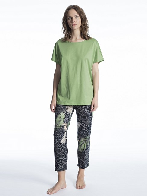 CALIDA Cosy Cotton Shore Pyjama 7/8