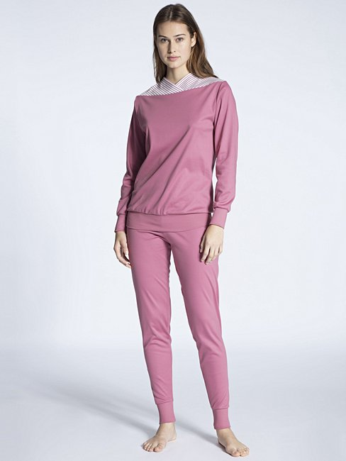 CALIDA Soft Cotton Pyjama with cuff