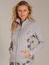 CALIDA Favourites Trend 3 Lounge-Jacke mit Reissverschluss