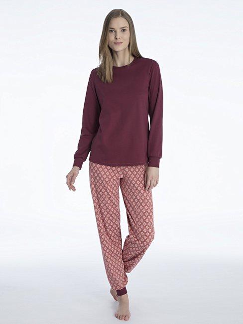 CALIDA Rosanna Pyjama with cuff