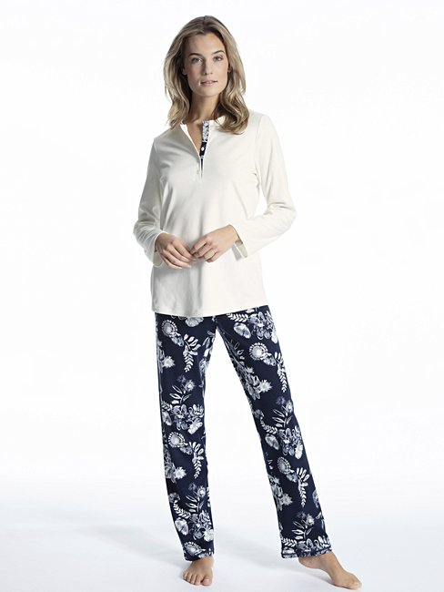 CALIDA Soft Flowers pyjama