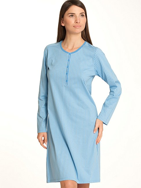 CALIDA Colour Blush Nightshirt Langarm, Länge 100cm