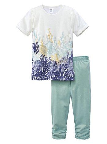 CALIDA Aquatic Wonders Mädchen-3/4-Pyjama