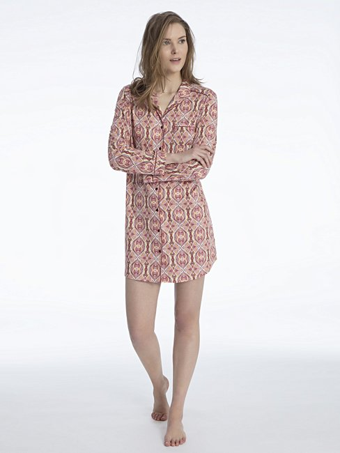 CALIDA Noée Sleepshirt, geknöpft Länge 90cm