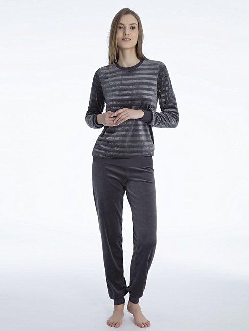 CALIDA Rania Bündchen-Pyjama aus Nicki