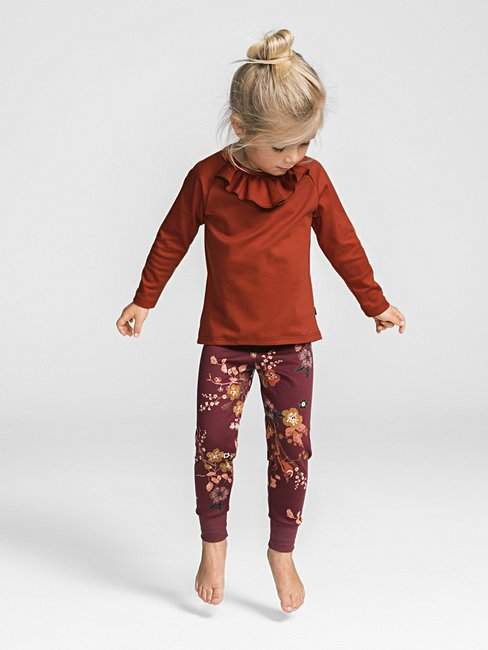 CALIDA Chatty Blossom Kinder-Pyjama mit Rüschen