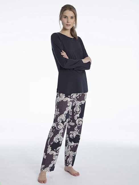 CALIDA Shirin Pyjama mit Paislydruck