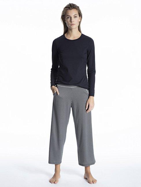 CALIDA Favourites Trend 1 Langarm-Shirt, Rundhals