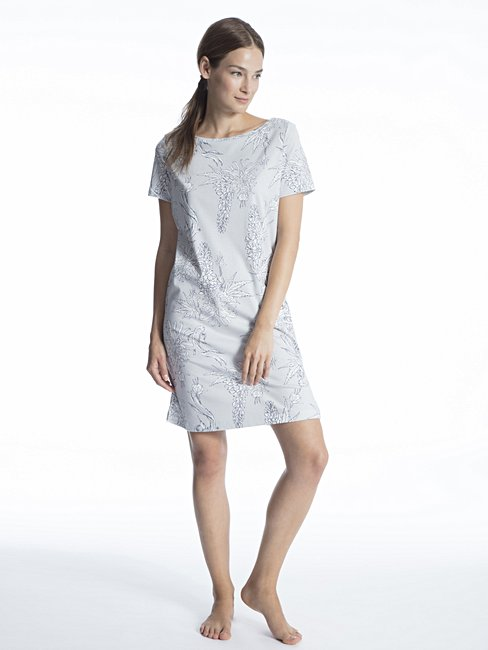 CALIDA Cosy Cotton Style Sleepshirt, lungezza 90cm