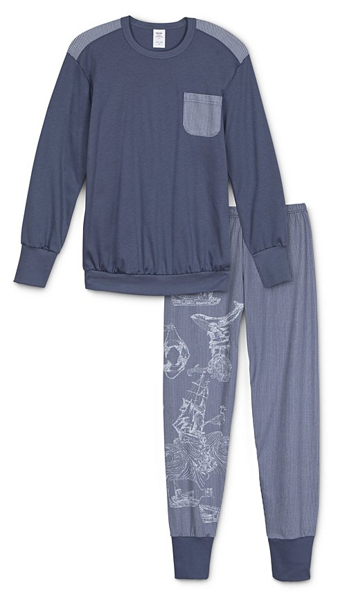 CALIDA Boys Nautic Pyjama with cuff