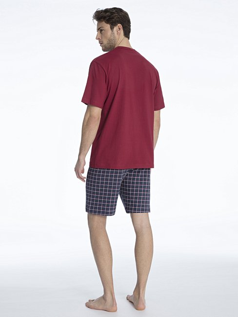 CALIDA Glen Kurz-Pyjama