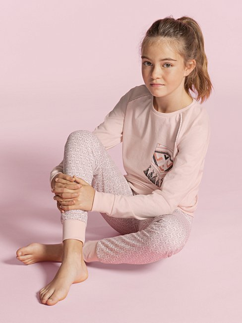 CALIDA Girls Ethno Pyjama with cuff for girls