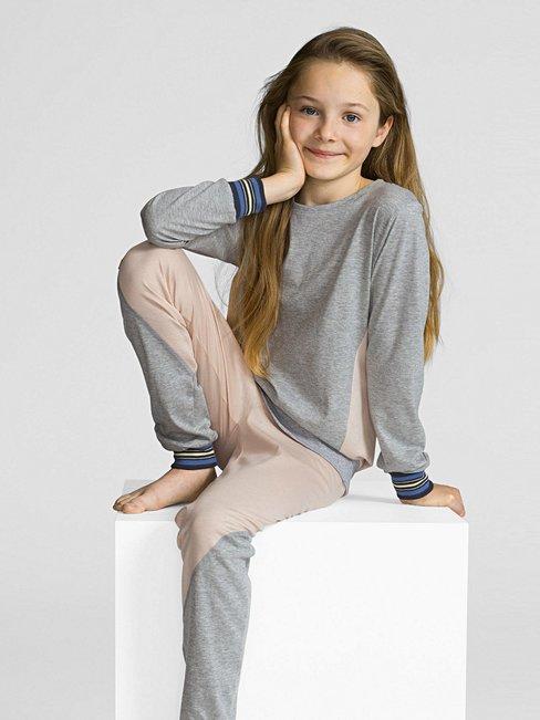 CALIDA Athleisure Girl Mädchen-Bündchenpyjama