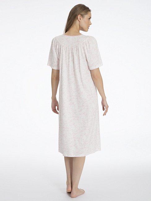 CALIDA Soft Cotton Klassisches Kurzarm-Nachtkleid