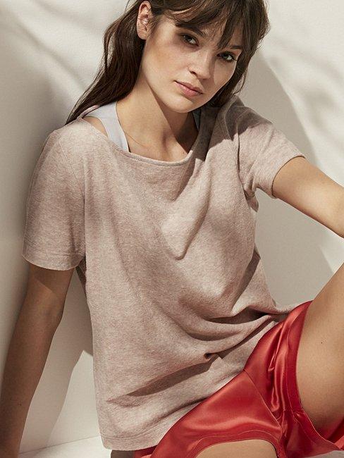 CALIDA Favourites Trend 2 Frottee-Shirt kurzarm
