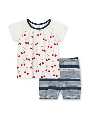 CALIDA Toddlers Cherry Pyjama court