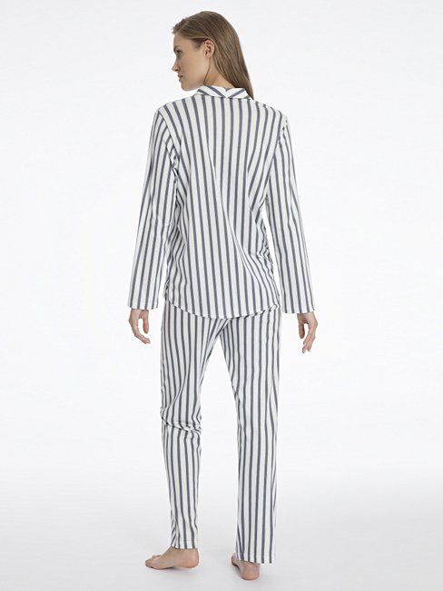 CALIDA Madeleine Pyjama durchgeknöpft