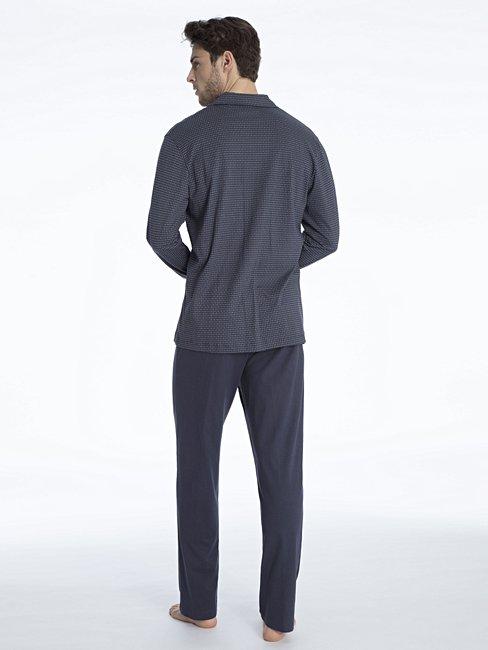 CALIDA Glen Pyjama, geknöpft