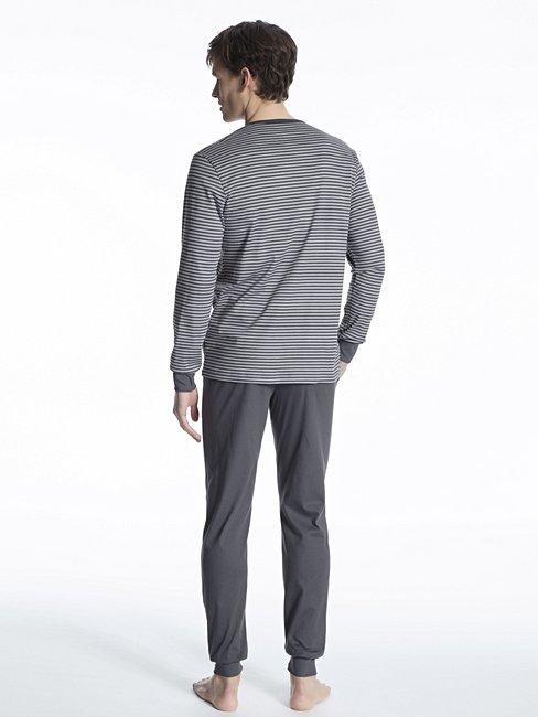 CALIDA Casual Pure Pyjama avec bords élastiques