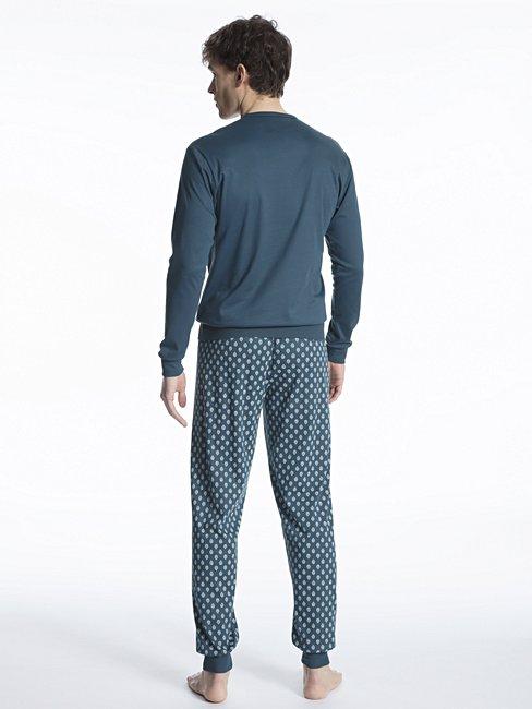 CALIDA Relax Streamline 1 Bündchen-Pyjama