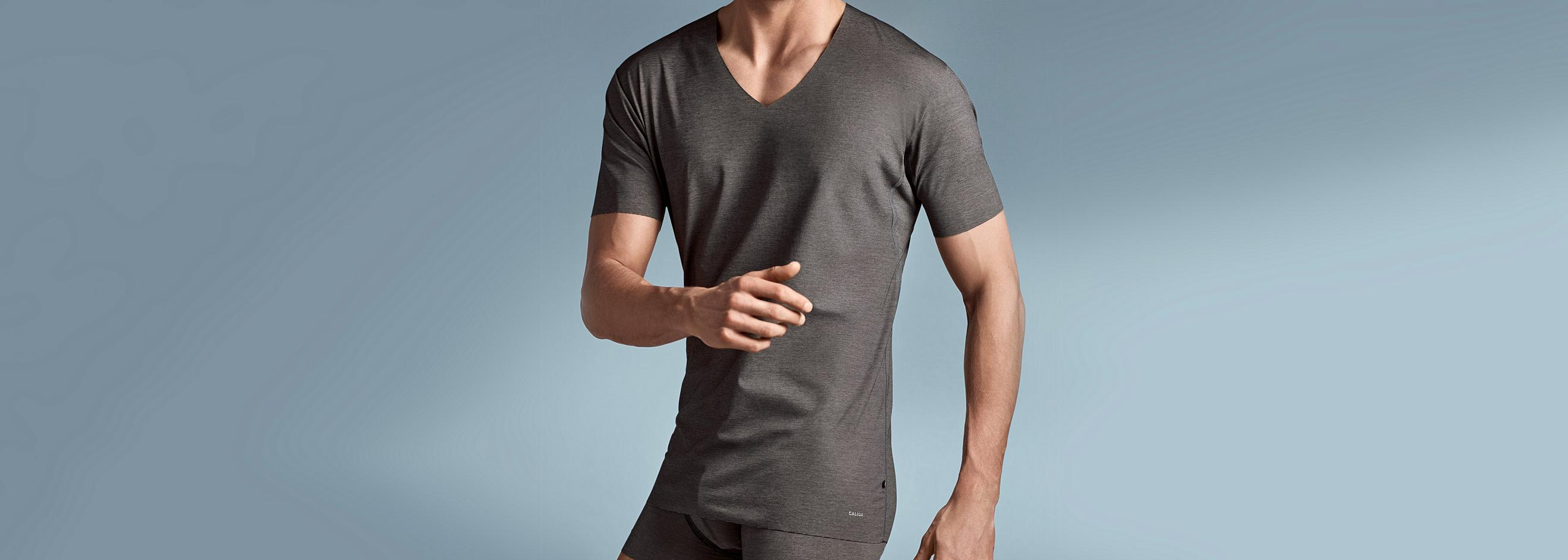 dac81bdd6a Men's tank tops, T-shirts & undershirts | CALIDA