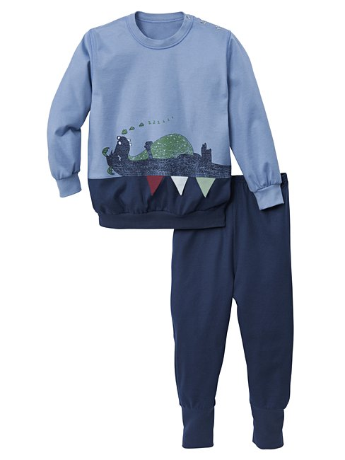 CALIDA Sleeping Dragon Pyjama with cuff
